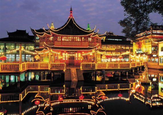 مکان های دیدنی شانگهای بزرگ ترین شهر چین