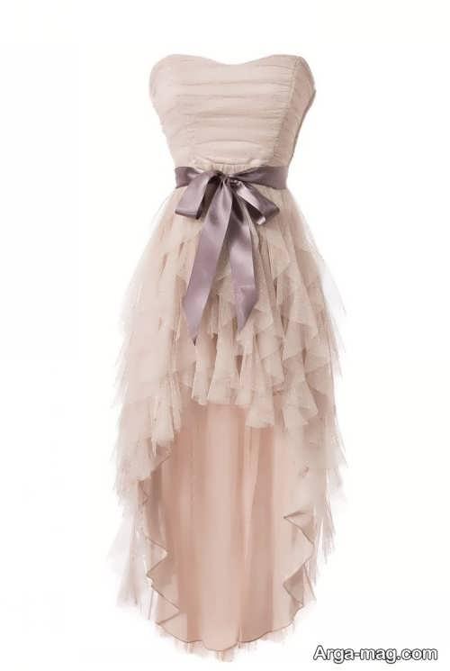 مدل لباس مجلسی جلو کوتاه پشت بلند