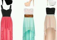 مدل لباس جلو کوتاه پشت بلند