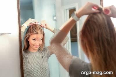 آموزش سشوار کردن موها