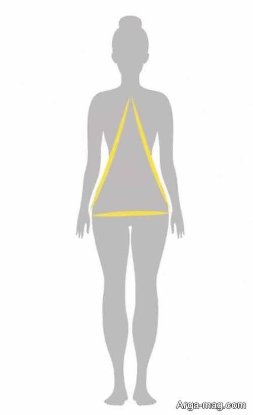 فرم اندام مثلثی