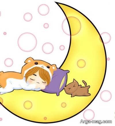 قصه زود خوابیدن مینا کوچولو