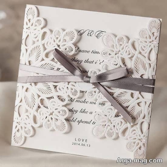 کارت عروسی شیک و جذاب