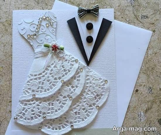 مدل کارت عروسی فانتزی