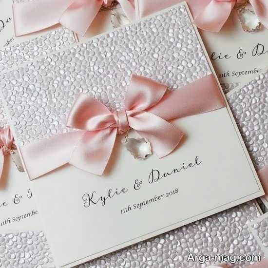 مدل کارت عروسی طرح دار