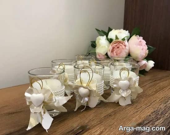 گیفت عروس با شمع