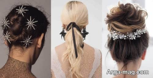 مدل موی باز و بسته زنانه