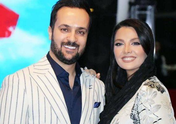 عکس لاکچری احمد مهران فر با همسرش