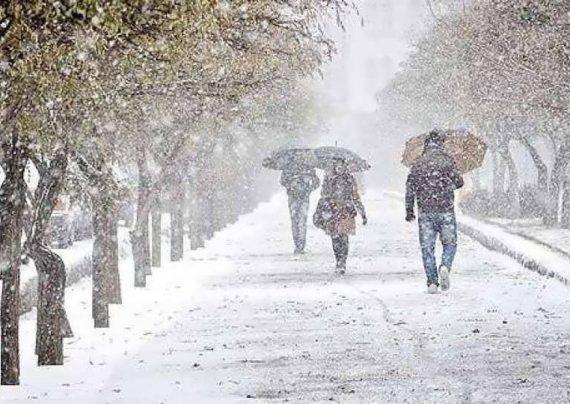 تشکیل برف و نحوه بارش