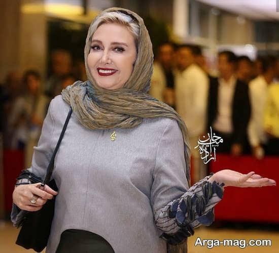عکس کتایون ریاحی در جشن حافظ