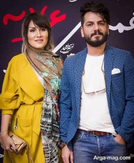 بازیگران در جشن حافظ ۹۷