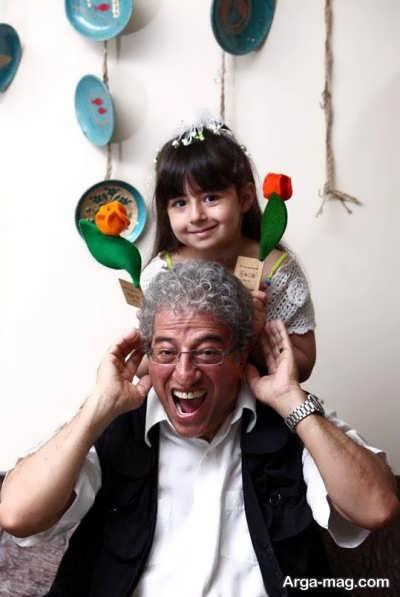 عکس های همسر و دختر مروارید پورشفیقی