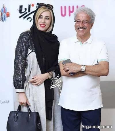 عکس های دونفره علیرضا خمسه با مروارید پورشفیقی