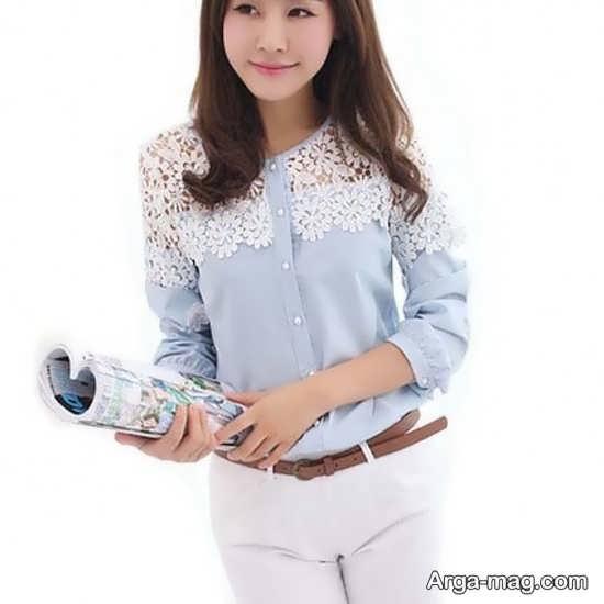 مدل شومیز کره ای