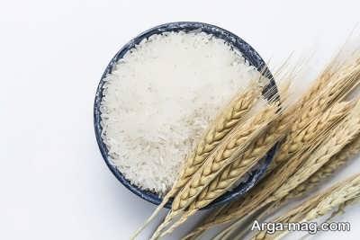 گونه های برنج ایرانی مرغوب