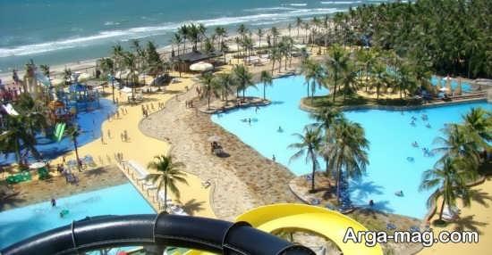 سواحل آبی رنگ برزیل