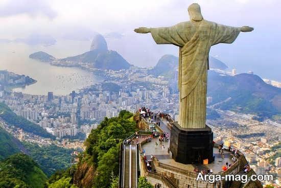 مکان های دیدنی برزیل کدام اند