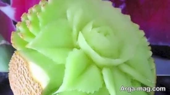 تزیین گرمک به شکل گل
