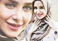 ژست های دیدنی و زیبا الناز حبیبی