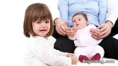 مقابله با حسادتان کودکان نسبت به فرزند کوچک