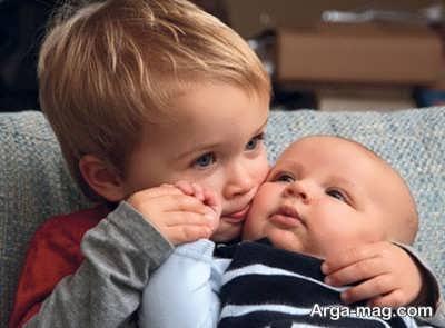 به دنیا آمدن نوزاد و حسادت فرزند بزرگتر