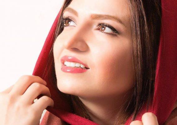 آرایش جذاب و دیدنی گلاره عباسی