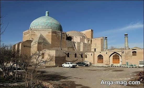 مسجد تاریخی زیبا در قزوین