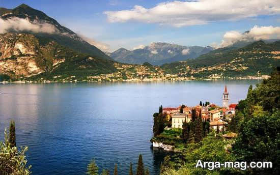 دریاچه خاص در ایتالیا