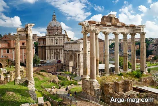 معماری های قدیمی ایتالیا