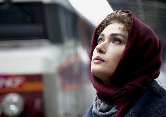 مدل روسری جذاب لادن مستوفی