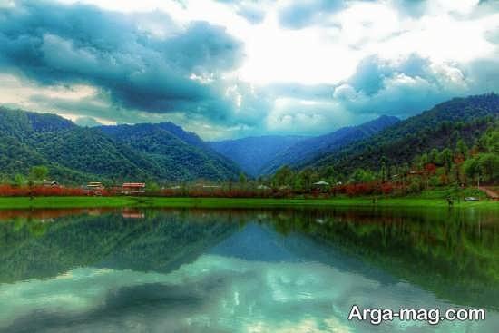 رودخانه زیبا در ماسال
