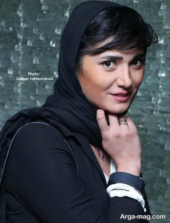 پوشش نامتعارف خانم بازیگر