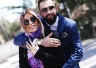 صندل زیبای همسر محسن افشانی