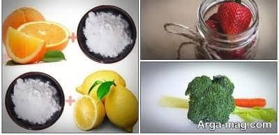 نمک دریا و آبلیمو برای تمیزی دندان