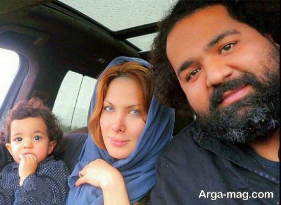 عکس های رضا صادقی و همسرش