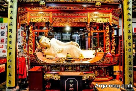 معبد جدید در شانگهای چین