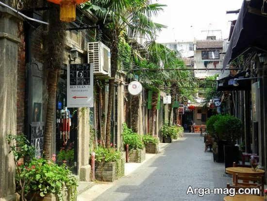 محله های قدیمی شانگهای