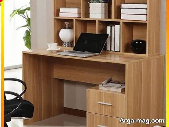 مدل چوبی میز کامپیوتر