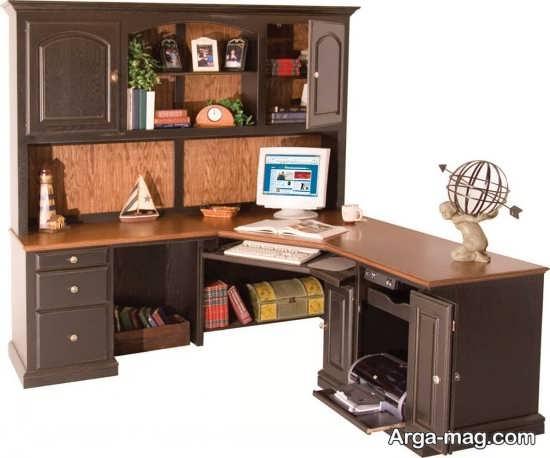طراحی زیبای میز کامپیوتر