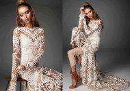 مدل لباس عروس بدن نما