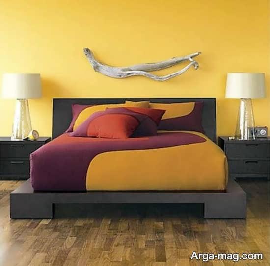 چیدمان زیبای اتاق خواب