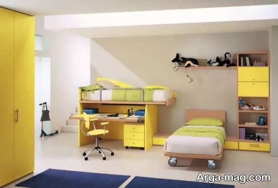 اتاق خواب زیبا با طراحی فوق العاده
