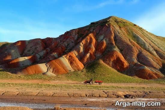 کوه های زیبای زنجان