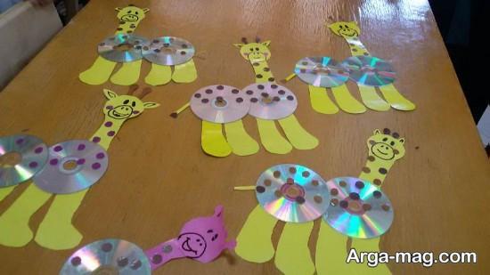کاردستی های زرافه جالب و زیبا برای کودکان