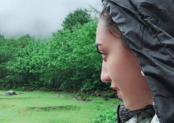 کیمیا علیزاده و همسرش در برنامه من و شما