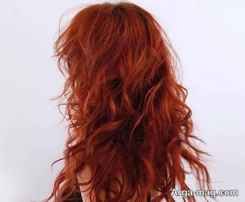 مدل رنگ مو پاییزی