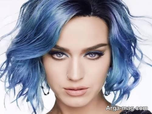 رنگ موی آبی کلاسیک