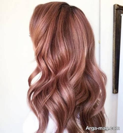 رنگ موی شیک و پاییزی