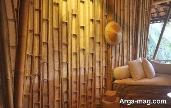 تزیینات ویژه با چوب بامبو