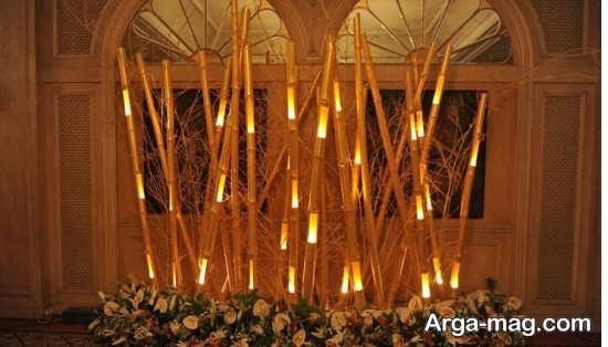 دکوراسیون مدرن و تزیین خانه با چوب بامبو